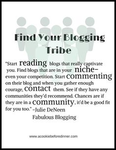 Community is super important for women entrepreneurs Julie DeNeen from www.fabulousblogging.com shares her advice about tribes and how to find them in this micro-interview. #blogging #networking