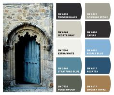 Architectural Beauty Color Palette Inspiration Chip It! by Sherwin-Williams – ChipCard by Christy C.