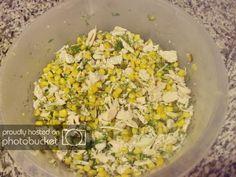 Salata de pui si porumb preparare reteta Fried Rice, Fries, Vegetables, Ethnic Recipes, Food, Salads, Essen, Vegetable Recipes, Meals