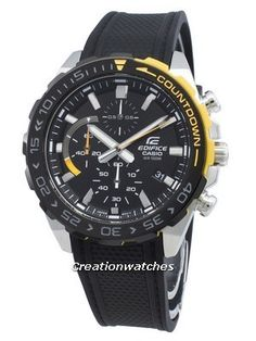 Case/Bezel Material: Stainless Steel, Resin Strap, Chronograph Function, Countdown Bezel, Luminous Hands, Rotating Bezel. Seiko 5 Military, Casio Edifice, Seiko Automatic, Watch Model, Beautiful Watches, Black Crystals, Casio Watch, Chronograph, Omega Watch