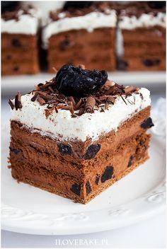 Ciasto pijana śliwka Gimme Some Sugar, Nutella, Tiramisu, Rum, Cheesecake, Cooking Recipes, Baking, Ethnic Recipes, Cakes