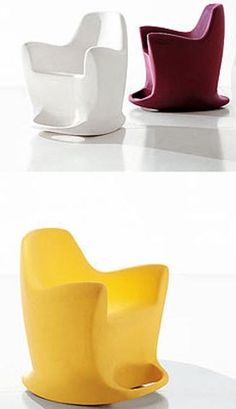 Rocking Chair Flip with a Very Modern Style by Dondoli e Pocci