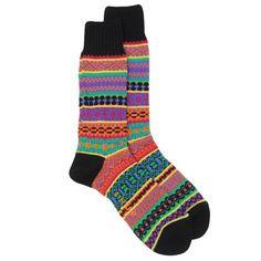 CHUP by Glen Clyde Emong Fairisle Socks    £25.00