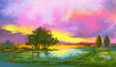 ahh i so love sunsets after rain, always beautiful! Digital oil colors painted on. Sunset after rain Sunset Gif, Beautiful Sunset, Digital Art, Digital Paintings, Pastel Colors, Creative Art, Rain, Sky, Deviantart