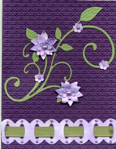 Pretty in Lavender by abuist - Cards and Paper Crafts at Splitcoaststampers