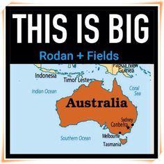 TODAY IS THE DAY!!!!  In just a few short hours, Rodan + Fields will start our long-awaited pre-enrollment in AUSTRALIA!   www.dmoore7.myrandf.biz 734-626-1838