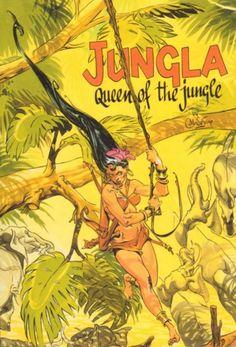 Jungla Queen of the jungle Anton, Tarzan Book, Comic Art, Comic Books, Claude, Queen, Manga, Humor, Comics