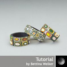 Polymer Clay PDF Tutorial Anello di semplice di BettinaWelker