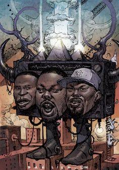 dan lish hip hop - Doug E Fresh, Biz Markie, Rahzel