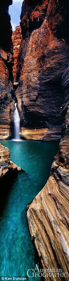 Karajini National park Pilbara WA