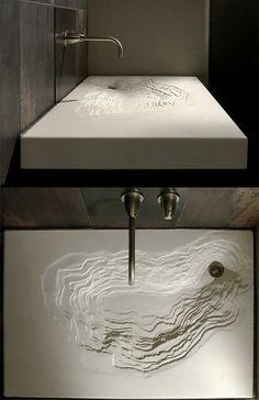 Cool Bathroom Sinks | cool - bathroom sink wash basin | Bathrooms - Tacky or Tasteful
