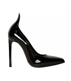 Thorn Pointed Patent Pumps via @WhoWhatWear