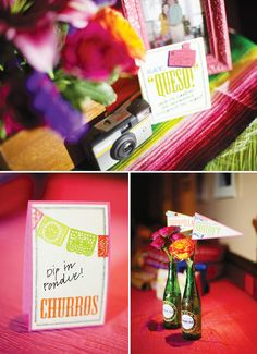 Colorful & Modern Fiesta Engagement Party MEXICAN THEMED ENGAGEMENT PARTY!! OLE!
