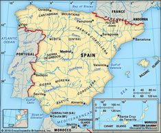 Spain: geography