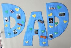 3 Quick & Crafty Father's Day gift ideas 1. Father's Day Giant Candy Gram, 2. Father's Day activity jar, 3. Tie Bag Scavenger Hunt