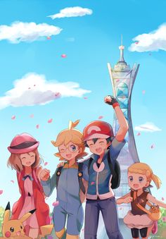 Pokemon by May via pixiv
