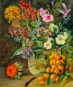 Group of Brazilian Forest Wild Flowers and Berries. by Marianne North Art Print on Canvas Magnolia Box Size: Large Group of Brazilian Forest Wild Flowers and Berries. by Marianne North Art Print on Canvas Magnolia Box Size: Large Botanical Drawings, Botanical Illustration, Botanical Prints, Marianne North, Canvas Artwork, Canvas Prints, Painting Prints, Art Prints, Paintings
