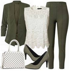 Casual Business Look, Classy Business Outfits, Business Outfit Frau, Classy Outfits For Women, Office Outfits Women, Outfits Casual, Komplette Outfits, Beautiful Outfits, Fashion Outfits