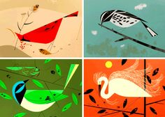 Charley Harper high res images | How About Orange