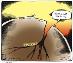 What Does The Fiscal Cliff Debacle Say About Our Chances To Avoid The Far More Worrisome Climate Cliff? | ThinkProgress
