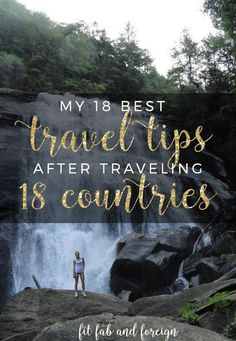 These are my absolute essential tips for everyone interested in traveling smarter!