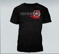 The Laurell K Hamilton Official Online Store :: Apparel :: Crew Neck Shirts :: Anita Blake US Marshal Tee