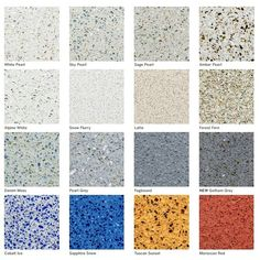 Let us know your favourite colour?  Recycled glass and cement never looked so good! What beautiful colours for your countertop needs ☺  #icestone #kitchen #countertop #counters #recycled #madeinusa #architecture #architectureporn #design #designer #interior #interiordesign #interiordecorating #style