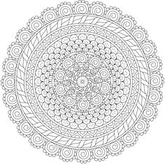 "This is ""Pixie Den"", a free printable coloring page from mondaymandala.com https://mondaymandala.com/m/pixie-den?utm_campaign=sendible-pinterest&utm_medium=social&utm_source=pinterest&utm_content=pixie-den"