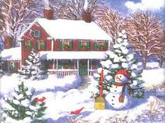 christmas scenes - Google Search