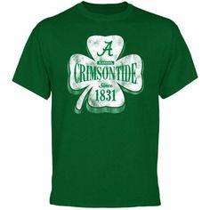 Alabama Crimson Tide Four Leaf Seal T-Shirt - Green