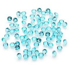 ConsumerCrafts Product Diamond Ice-Aqua-5.5mm/1 Carat
