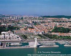 A Terceira Dimensão - Fotografia Aérea: Lisboa