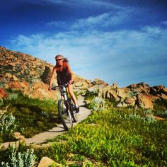 Salt Lake was named one of the Top 10 Mountain Bike Cities in North America! We're adventurous in Salt Lake, and we're OK bragging about it.