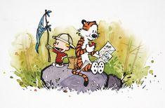 New Interview! Calvin & Hobbes creator Bill Watterson and Cul de Sac creator Richard Thompson talk libraries, comics, and the creative proce...
