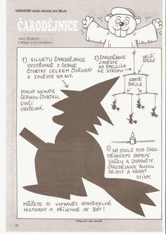 Čarodějnice – závěsná | Předškoláci