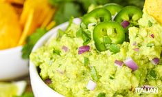 Chipotle Guacamole Recipe Chipotle Restaurant Recipes, Chipotle Guacamole Recipe, The Slow Roasted Italian, Family Meals, Food Videos, Appetizers, Spreads, Dressings, Ethnic Recipes