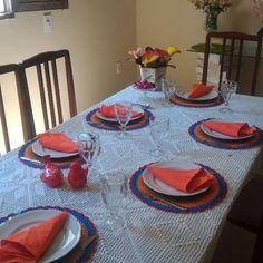 Boa tarde!💐🌹🌺🌷🌸 Cores para setembro❤️  .  .    Cores e flores para setembro.😍👏🏼👏🏼 .  .  .  .  🌹 Sousplatscroche para embelezar a sua mesa  🌹encomende os seus !  .  . .  #boatarde #arteemlinha #september #setembro #flores #primavera #diadotrabalho #sousplats #tableware  #mesalinda #artesanato #collor  #sousplatscroche  #Mesalinda #mesahits #mesaposta #candycolors  #handmade  #tableware  #jogoamericano #croche #crocheting #crochet  #artesanato #meseirasdobrasil #meseirasassumidas…
