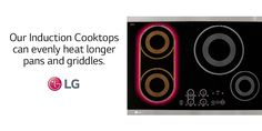 It's time to #treatyoself to a nice, long #breakfast. http://www.lg.com/us/kitchen/discovercooking/induction-cooktops.jsp