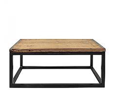 Table basse en bois et fer, Luzio, en vente jusqu'à Dimanche 17 juin sur Westwing !