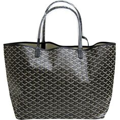 [10%OFF] [GOYARD/ ゴヤール] St.Louis Tote Bag Black sun Louis tote bag... ❤ liked on Polyvore featuring bags, handbags, tote bags, bolsas, purses, totes, handbags purses, goyard purse, goyard and goyard handbags