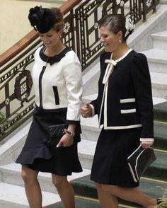 Princess Madeleine and Crown Princess Victoria, September 15, 2015 | Royal Hats