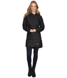 Mountain Hardwear Thermacity Parka In Black Mountain Hardwear, Hand Warmers, Parka, Winter Jackets, Feminine, Long Sleeve, Sleeves, Clothes, Collection