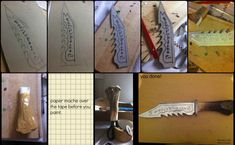 How to make Ruby's knife. by Mother-Of-Moths #supernatural #cosplay