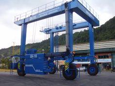 Travelift GH Cranes & components de 110t para Marina Verolme - Rio de Janeiro