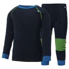 Premium merino wool base layer from Helly Hansen in Midnight Blue