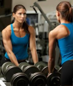Lift heavier for more definition—not bulkier muscles