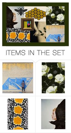 """""""Birds and the Bees"""" by pheinart ❤ liked on Polyvore featuring art"""