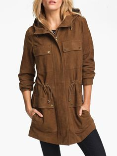 Mothers Day Exclusive Suede Leather Premium Coat for Women