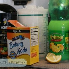 Natural cleaning method - clean rust off stainless steel using lemon juice and cream of tartar