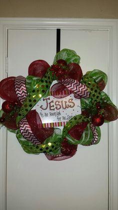Jesus is the Reason Deco